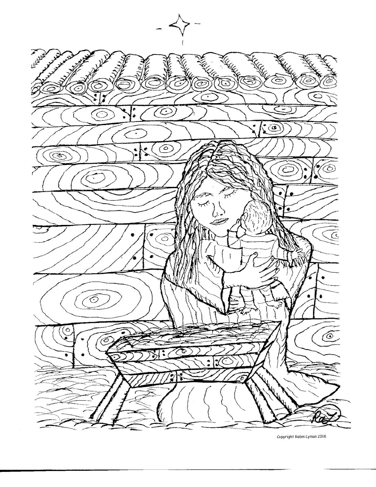 Ziemlich Mary Und Jesus Malvorlagen Bilder - Malvorlagen Von Tieren ...