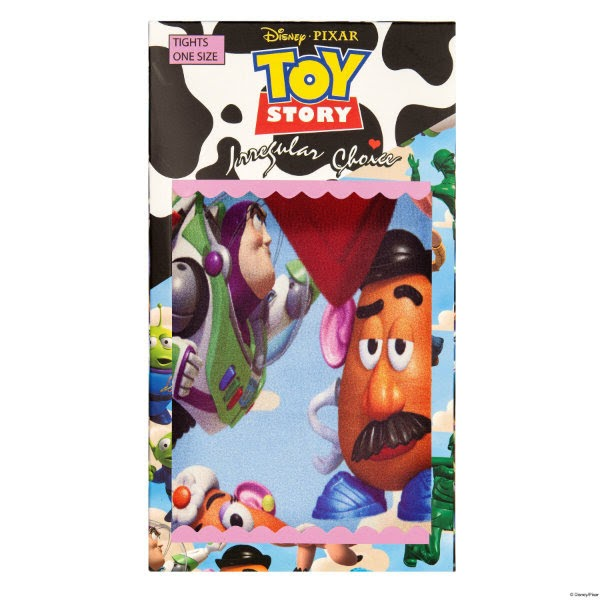Toy Story packet of tights with characters from the movie