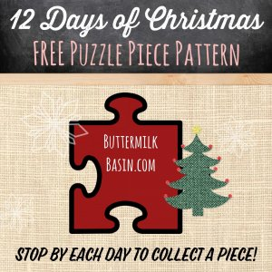 Buttermilk Basin - Free Puzzle Piece Pattern