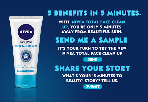 Sample of Nivea Total Face Clean Up