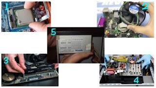 Cara Merakit Komputer Atau PC Beserta Gambar dan Videonya