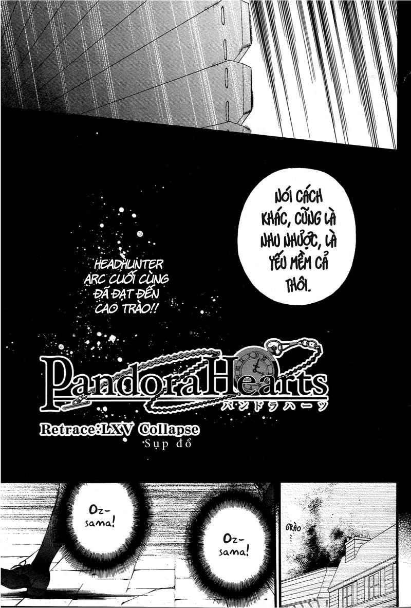 Pandora Hearts chương 065 - retrace: lxv collapse trang 5