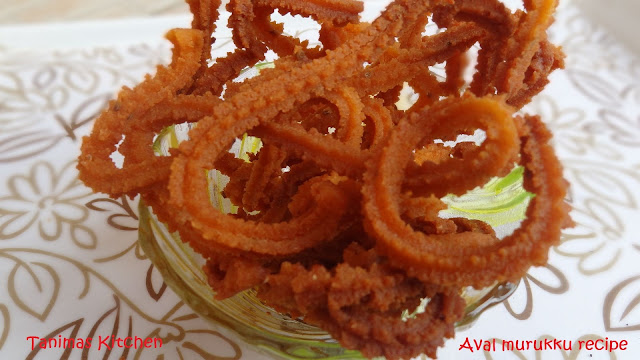 Aval murukku recipe, Poha chakli, Diwali recipes