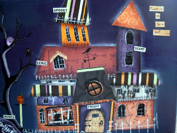Haunted House, collage
