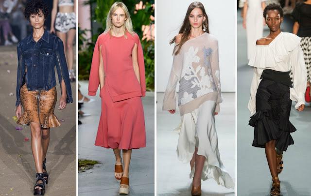 Модные тенденции весны 2017