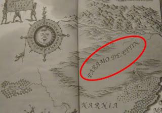 Páramo de Ettin Crónicas de Narnia
