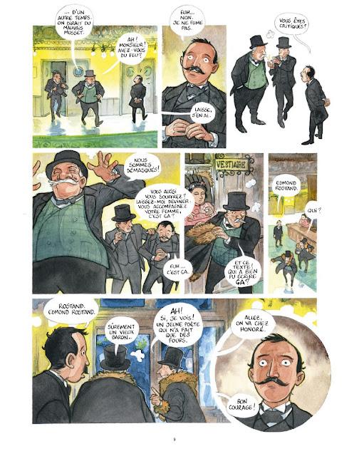 Edmond aux éditions Rue de Sèvres page 9