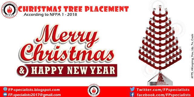 Christmas trees placement within buildings