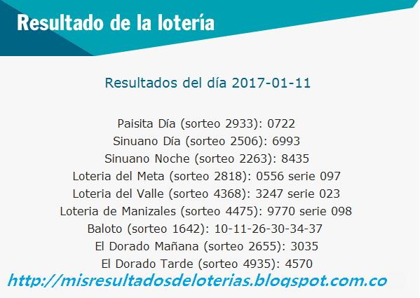 Resultado-del-Chance-y-la-Loteria-Enero-11-2017
