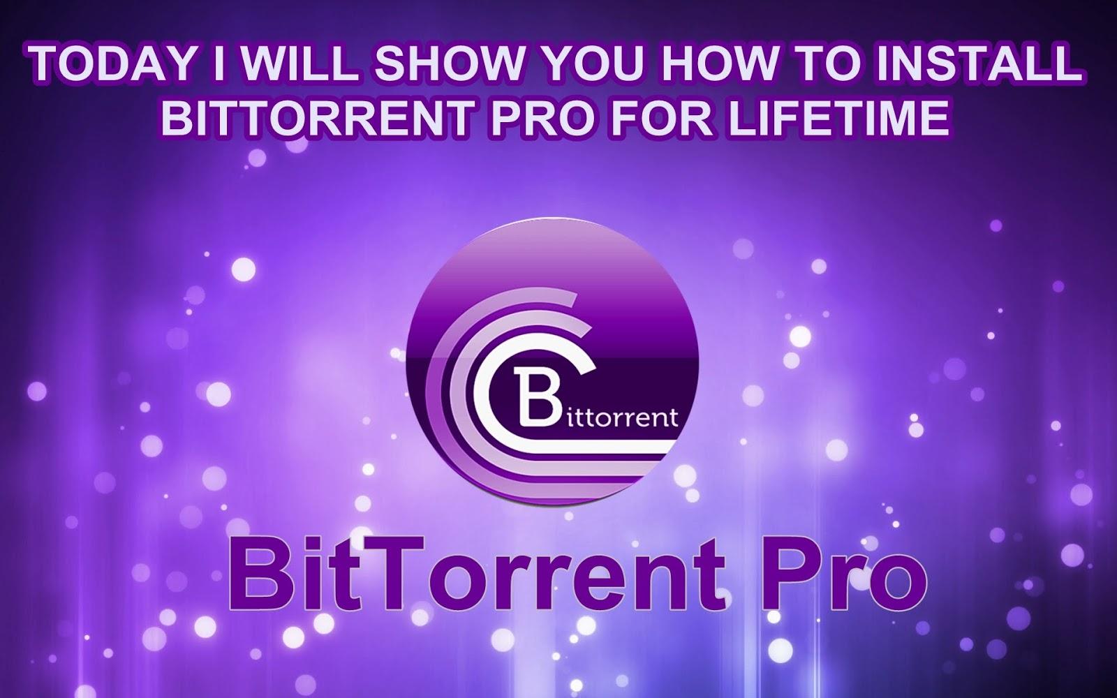 download bittorrent pro full crack