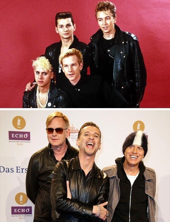 O antes e o depois de grandes estrelas da música mundial dos anos 90