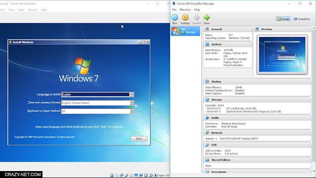 شرح برنامج VM VirtualBox لتثبيت و تجربة انظمة التشغيل المختلفة