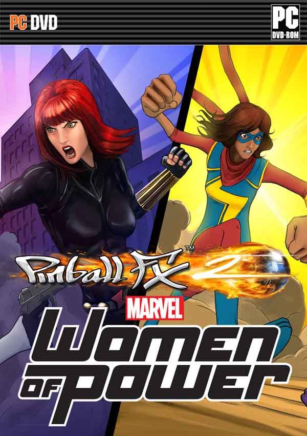 Pinball FX2 Marvel Women of Power Download Cover Free Game