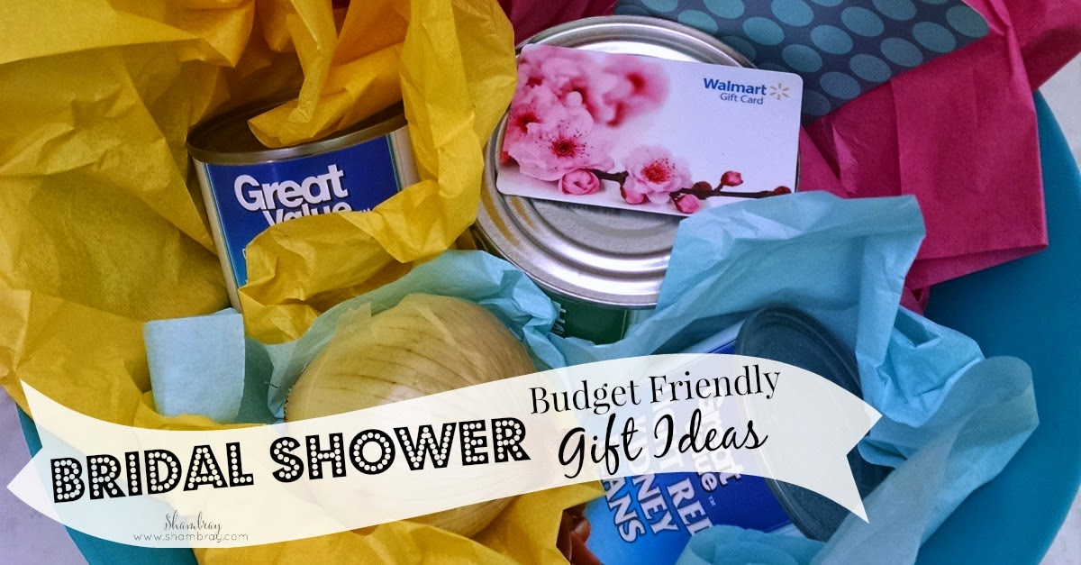 Shambray Budget Friendly Bridal Shower Gift Ideas