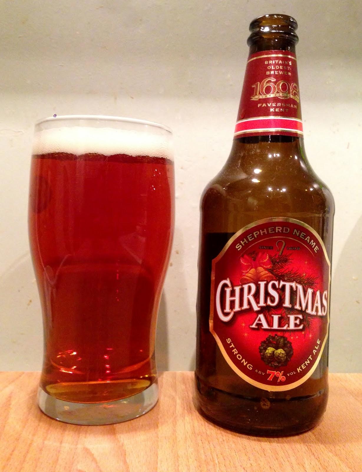 Christmas Ale.Hungerlust Christmas Beer Of The Week Shepherd Neame
