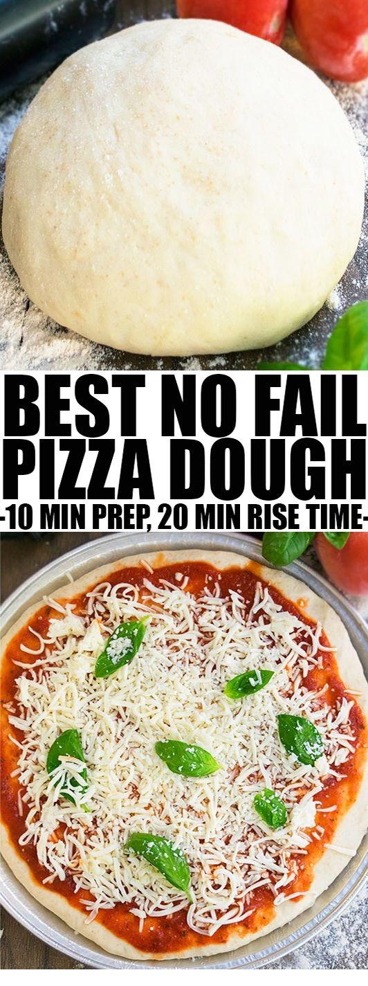 How To Make Homemade Pizza Dough Recipe
