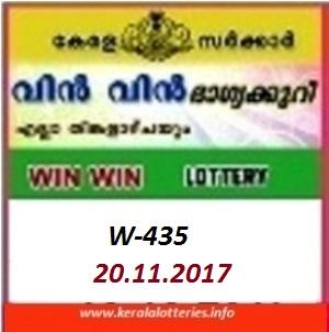 Win Win (W-435) ON NOVEMBER 14, 2017