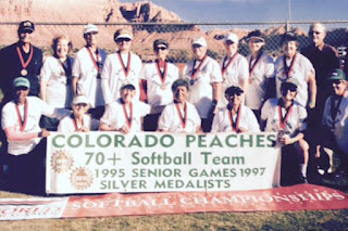 Colorado Peaches Softball Team