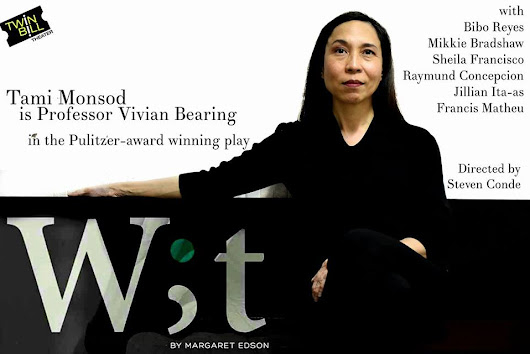 #TheaterPH - Wit, Acclaimed Pulitzer Prize For Drama Set For Its Asian Premiere!