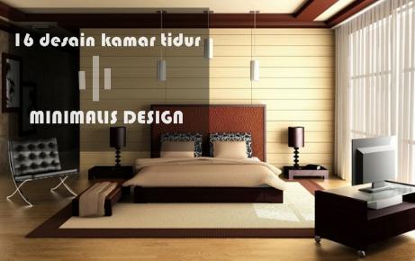 16 desain kamar tidur minimalis keren untuk orang dewasa