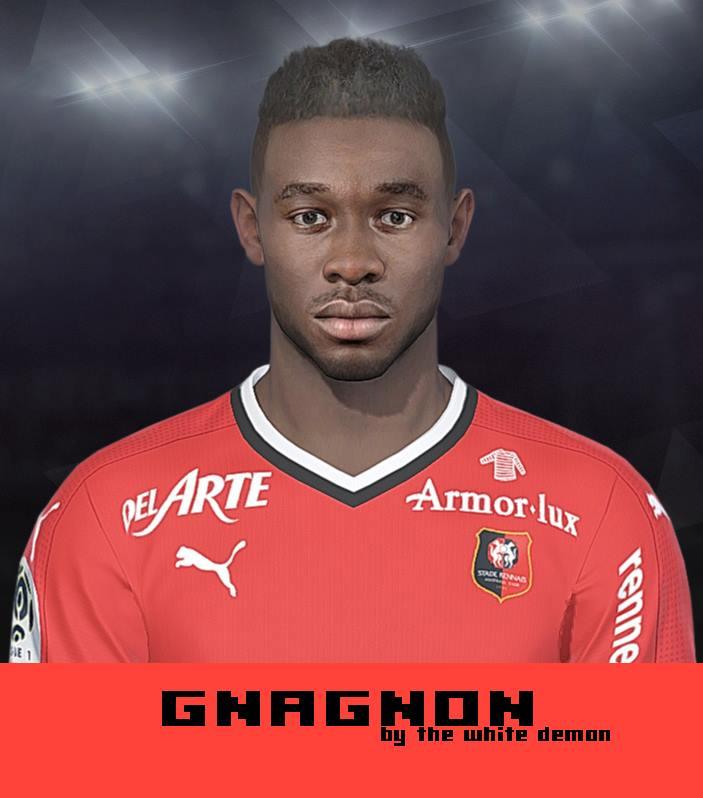 Ultigamerz Pes 2010 Pes 2011 Face: Ultigamerz: PES 2018 Joris Gnagnon (Stade Rennais) Face