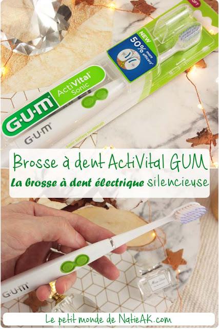 Avis sur la brosse à dent électrique pas cher ActiVital sonic de GUM