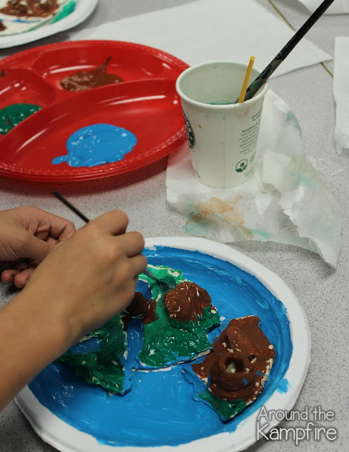 Landforms Project: Painting our  islands