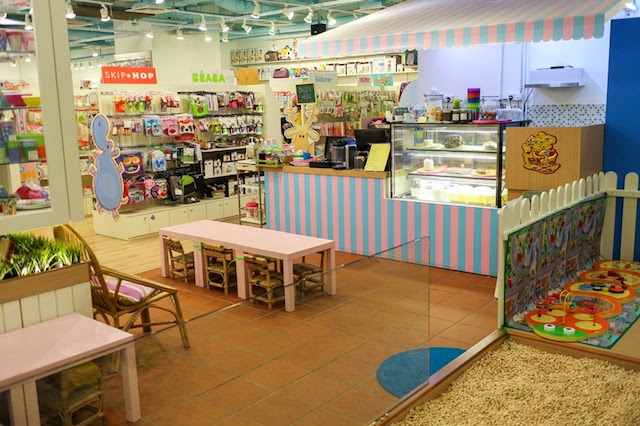 Big Daddy Little Chef's cafe inside Happikiddo Quill City Mall