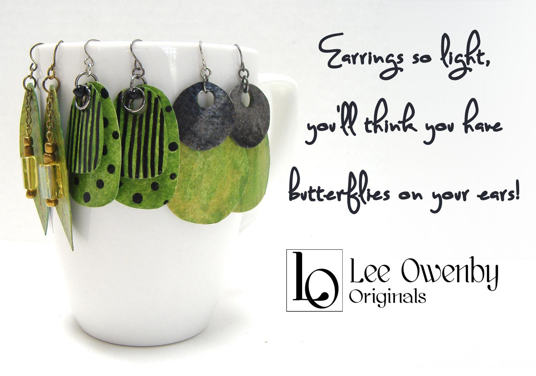 Lee Owenby Artist Ear Nuts And Butterflies