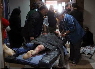 Muçulmanos do EI atacam com armas químicas rebeldes apoiados pela Turquia