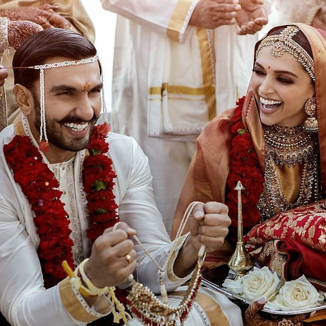 Ranveer Singh and Deepika Padukone are Now Man and Wife!