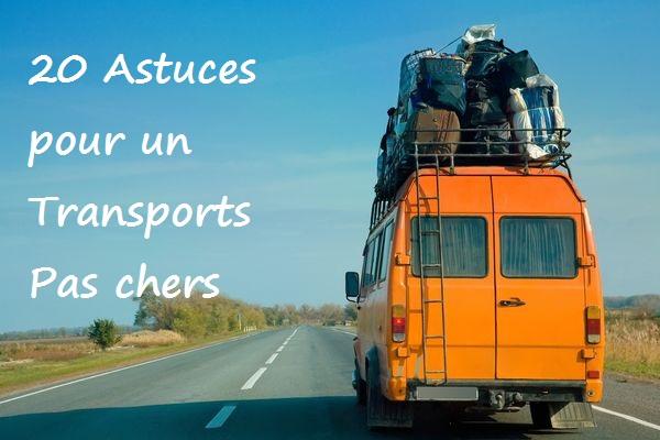 20 Astuces pour Transports pas chers