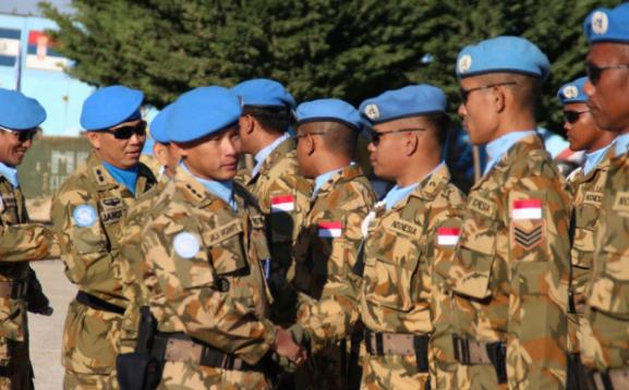 Prajurit TNI yang mendapat penghargaan atau kenaikan pangkat