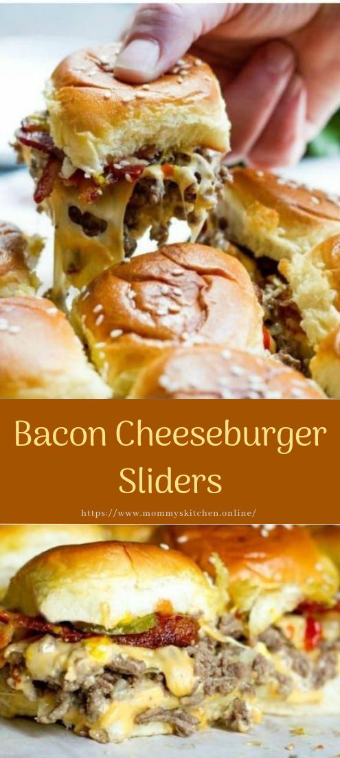 Bacon Cheeseburger Sliders #healthyfood #dietketo