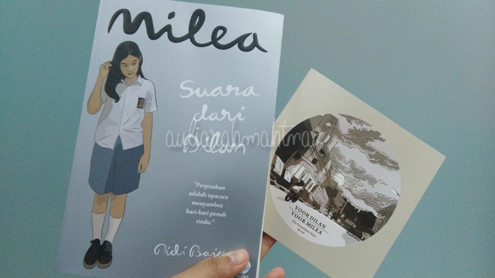 Review Novel Milea Suara Dari Dilan Aulia S Story