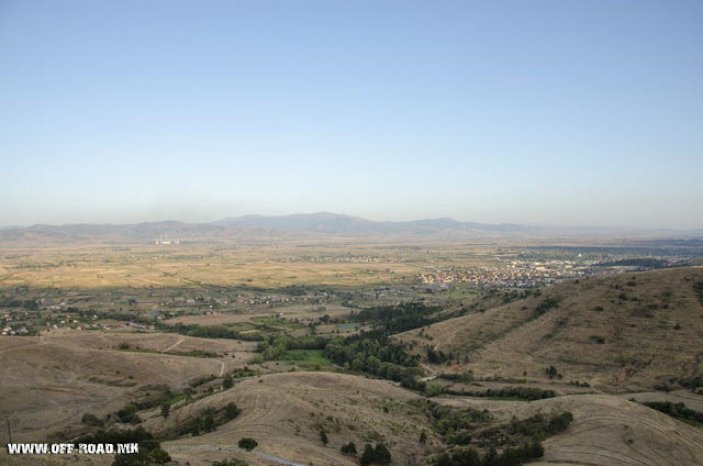 Panorama - view from St. Iliya monastery - Krklino village - Bitola Municipality