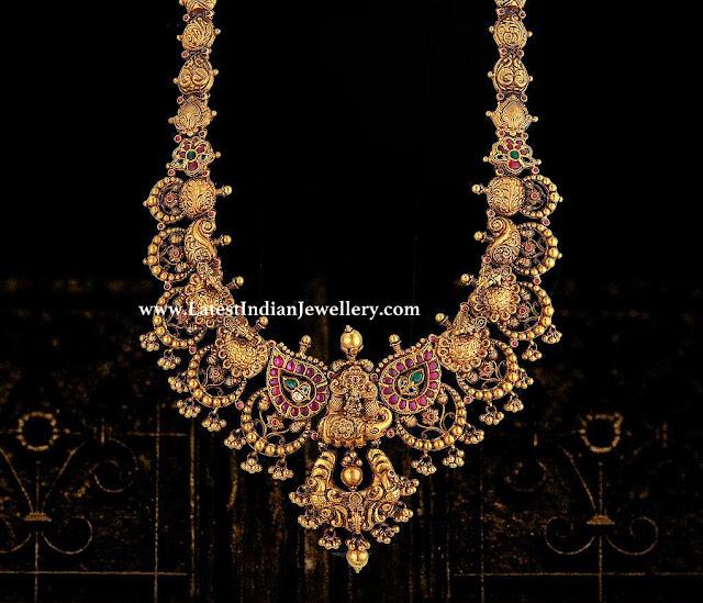 Festive Intricate Gold Haram