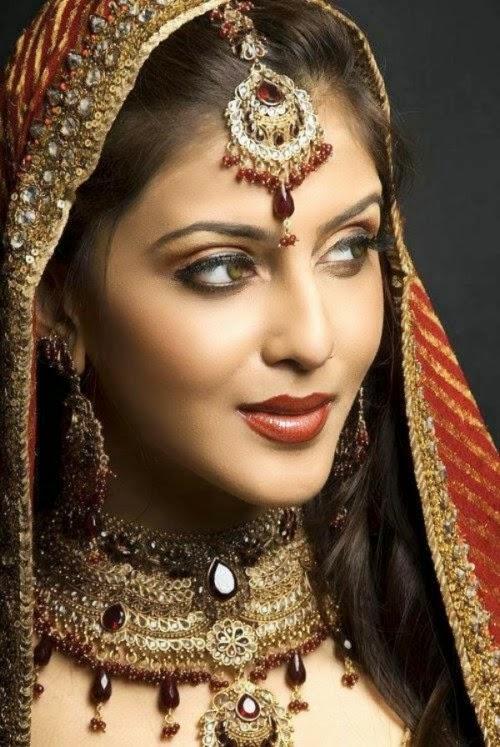 beautiful bride eyes - photo #32