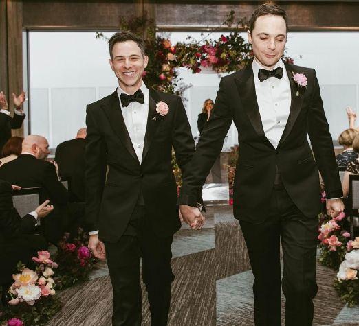 Jim Parsons Wedding: PICS: Inside Jim Parsons' Wedding With Partner Todd