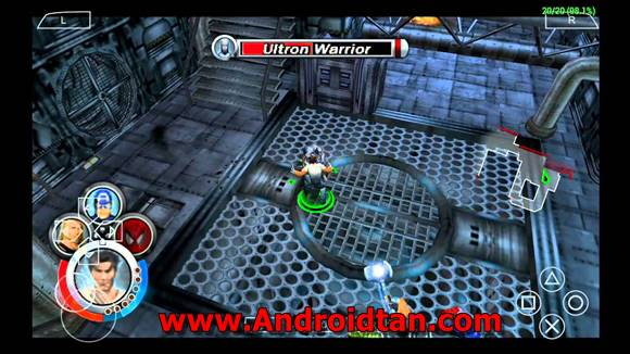 Download Marvel Ultimate Alliance (USA) ISO PPSSPP PSP Terbaru 2018