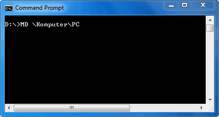 Membuat Direktori (Folder) PC di Dalam Folder Komputer
