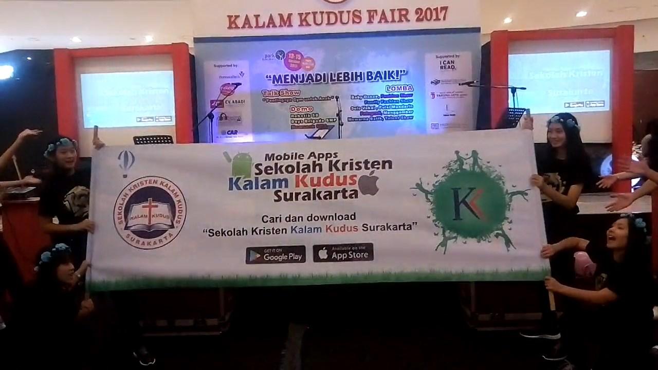 Kejutan Flash Mob di Peluncuran Mobile Apps Kalam Kudus Surakarta