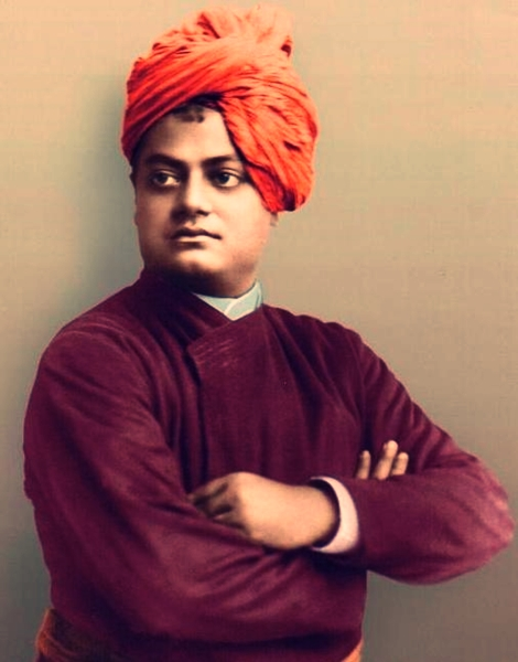 swami vivekananda real colour photos