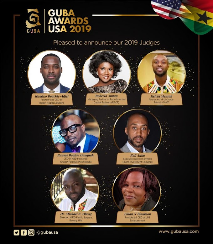 Judges and Advisory Board announced for GUBA Awards USA