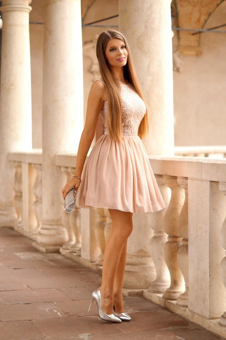 Only My Fashion Style Tiulowa Sukienka