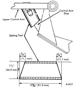 1974 Jaguar Wheel Alignment Guide Auto Motive Repair Guides