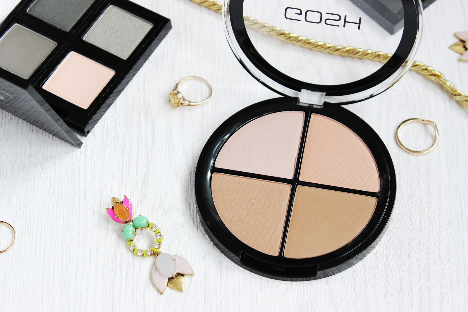 Must-have high street palettes from GOSH, The Body Shop and MUA - GOSH Contour and Strobe close up