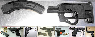 (Top to Bottom / L-R) Guns Discovered at DFW [last week], PNS, CHA, IAH, PHX, MCI, ATL