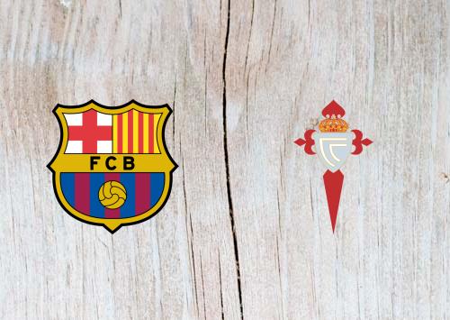Barcelona vs Celta Vigo Full Match & Highlights 22 December 2018