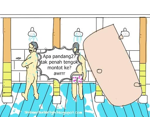 Bilik Air Asrama Tempat Khusus Pertandingan Menyanyi Juri Datang Dari Sebelah Selalunya Komen Macam Ajai Maki2